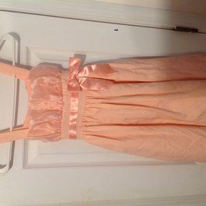 Other - Little Girl Peach Dress
